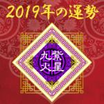 2019年の運勢 - 九紫火星