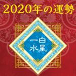 2020年の運勢 - 一白水星