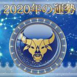 2020年の運勢 - おうし座