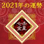 2021年七赤金星