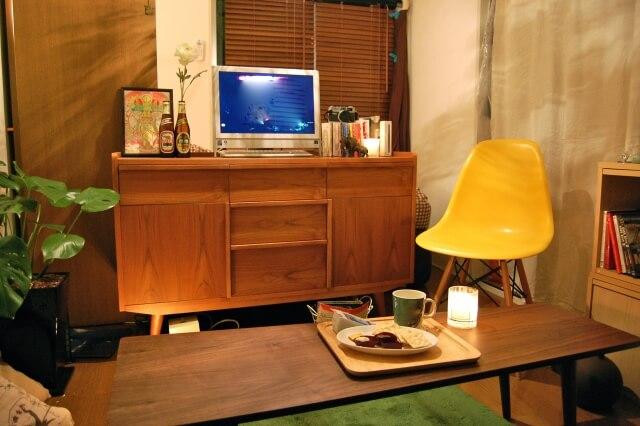 家具が置いてある部屋