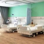 病院のベッド