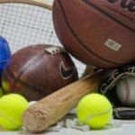 いろいろなスポーツ用品